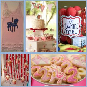 Carnival Party: Stella's First Birthday Bash and Carousel Party-Mimi's Dollhouse