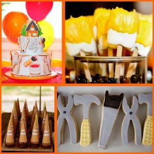 Construction Party: Under Construction Party Ideas-Mimi's Dollhouse