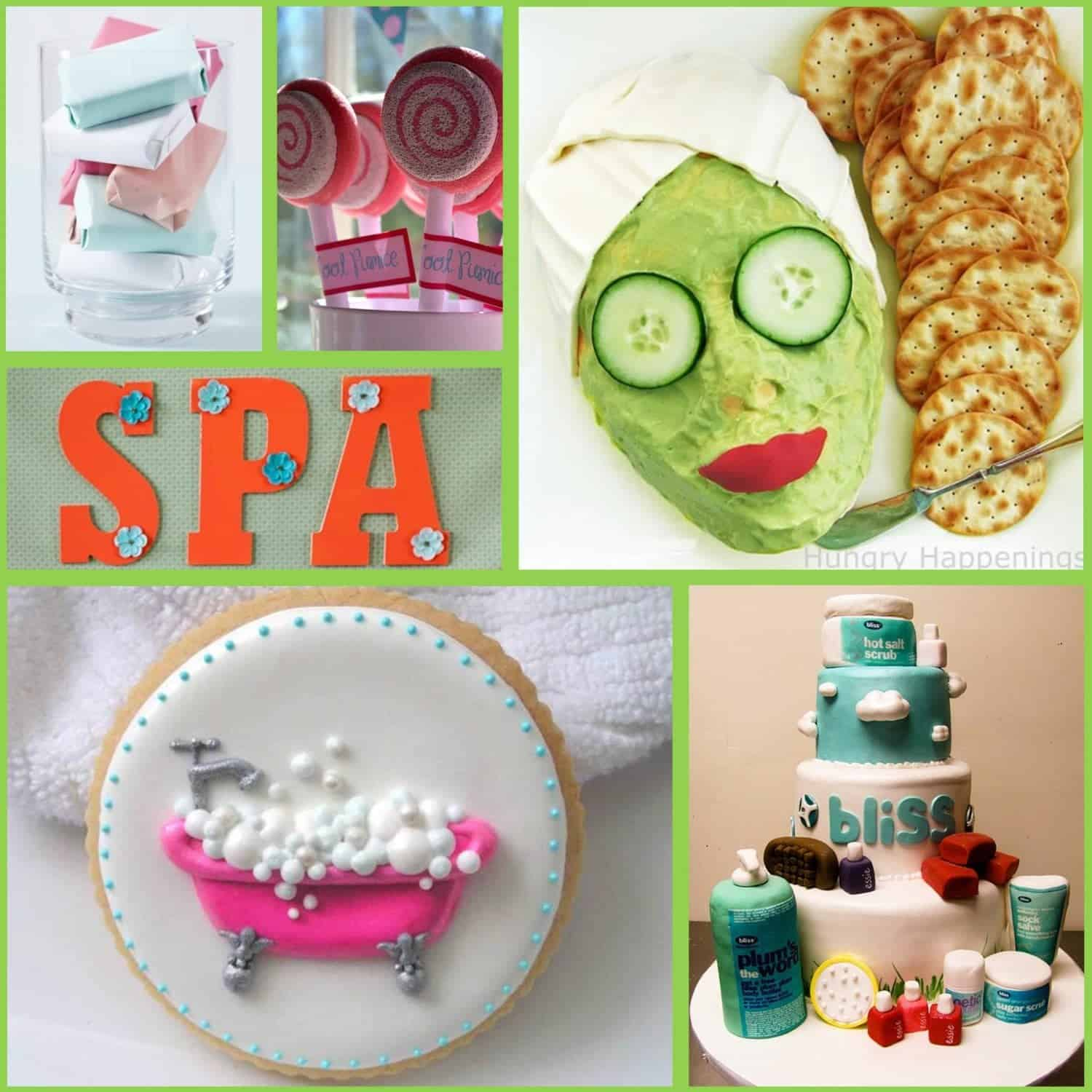 Spa Themed Decorations