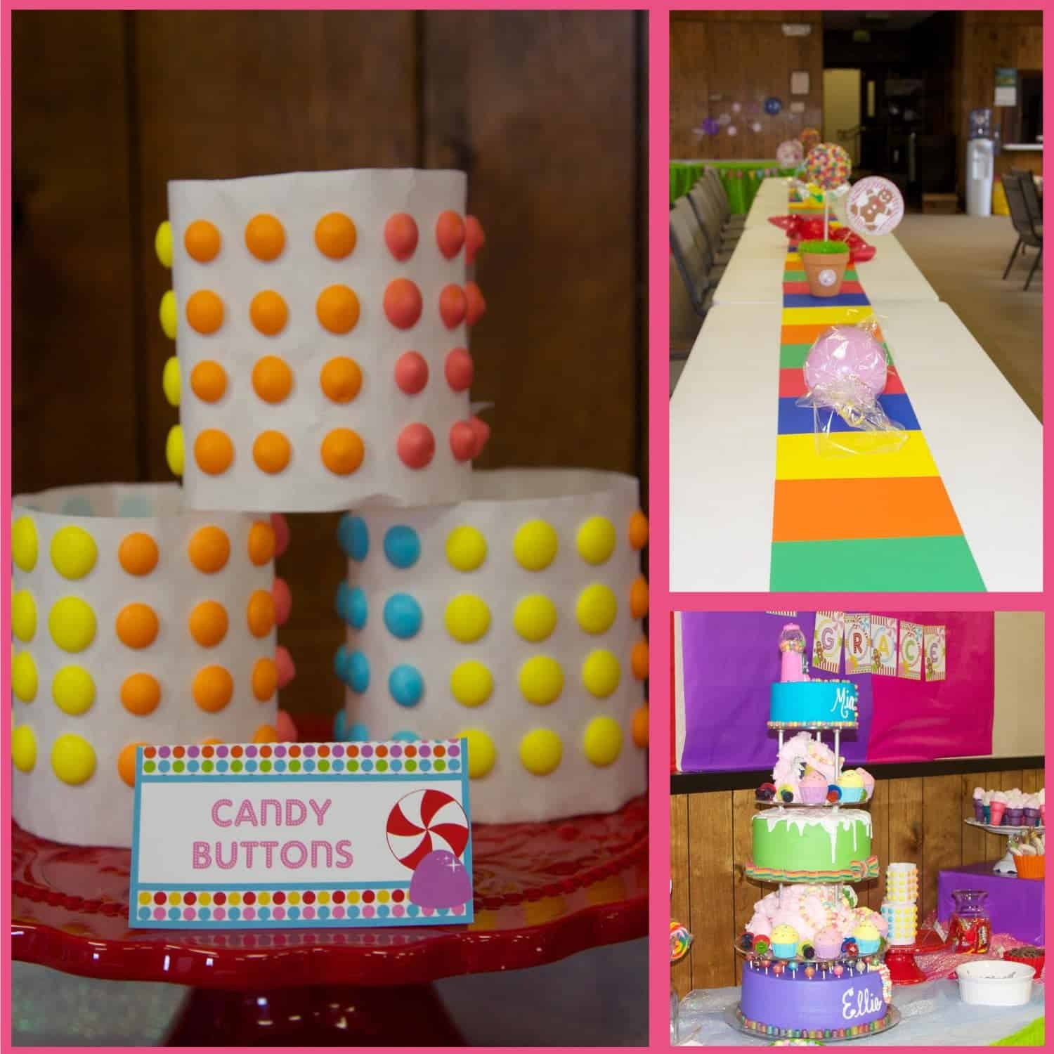 Candyland Party Printable Collection