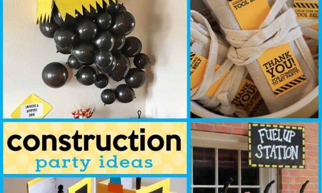 Construction Party: Under Construction Party Ideas