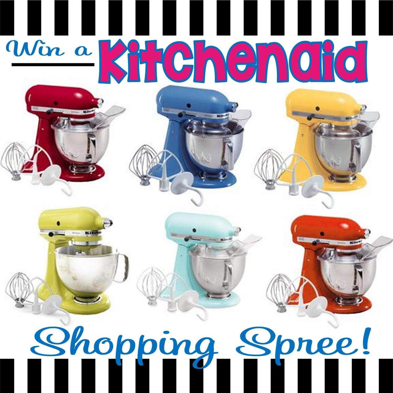 Giveaway: Kitchenaid Shopping Spree