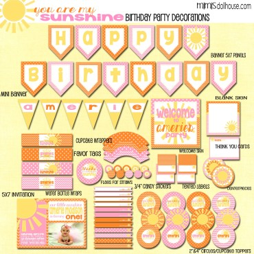 sunshine display file-orange