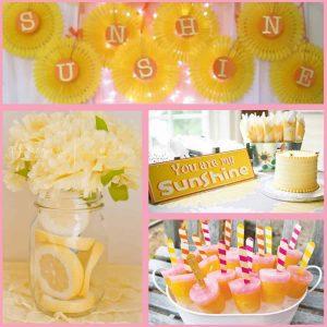 Sunshine Party: Sunshine Party Ideas-Mimi's Dollhouse