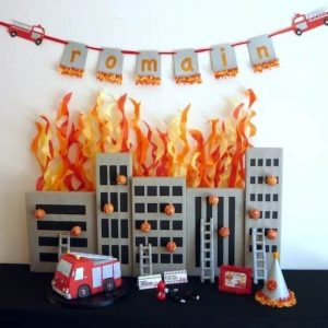 Fireman Party: Romain's Party is on Fire-Mimi's Dollhouse