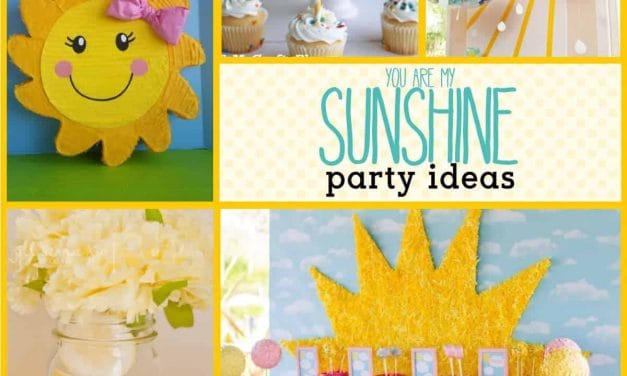 Sunshine Party: Sunshine Party Ideas