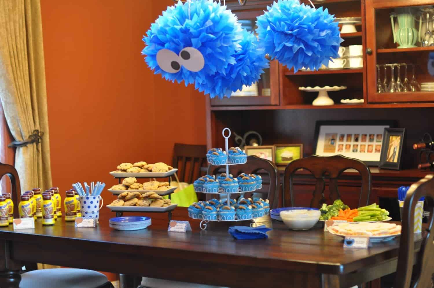 Cookie Monster Party Printable Collection Mimi s Dollhouse