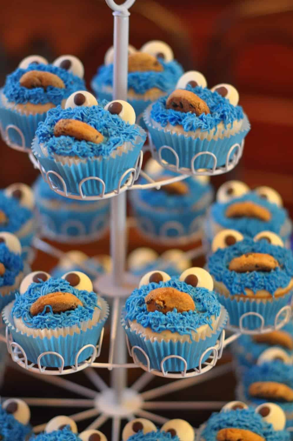 Sesame Street Party James Cookie Monster First Birthday