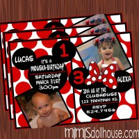 Invite display red