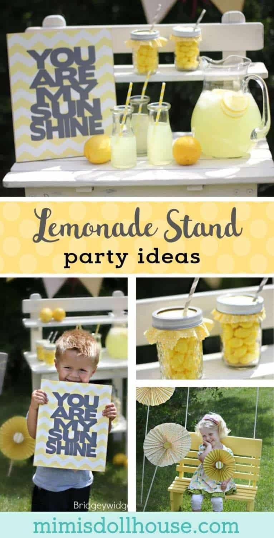 Toys R Us Lemonade Stand : Lemonade party pretty stand mimi s dollhouse