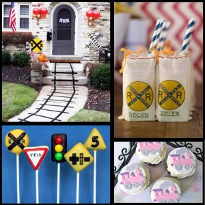 Train Party:Choo-Chootastic Train Party Ideas-Mimi's Dollhouse