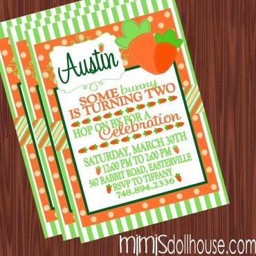 carrot invitation