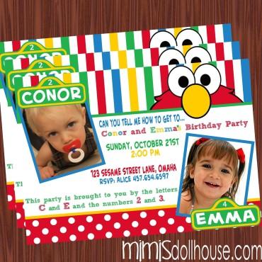 elmo invite 2 kids