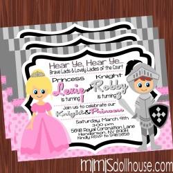 invitation display