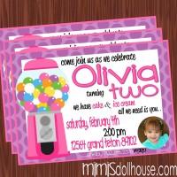 invitation pink bg pic