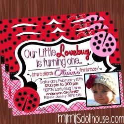 lovebug invite display