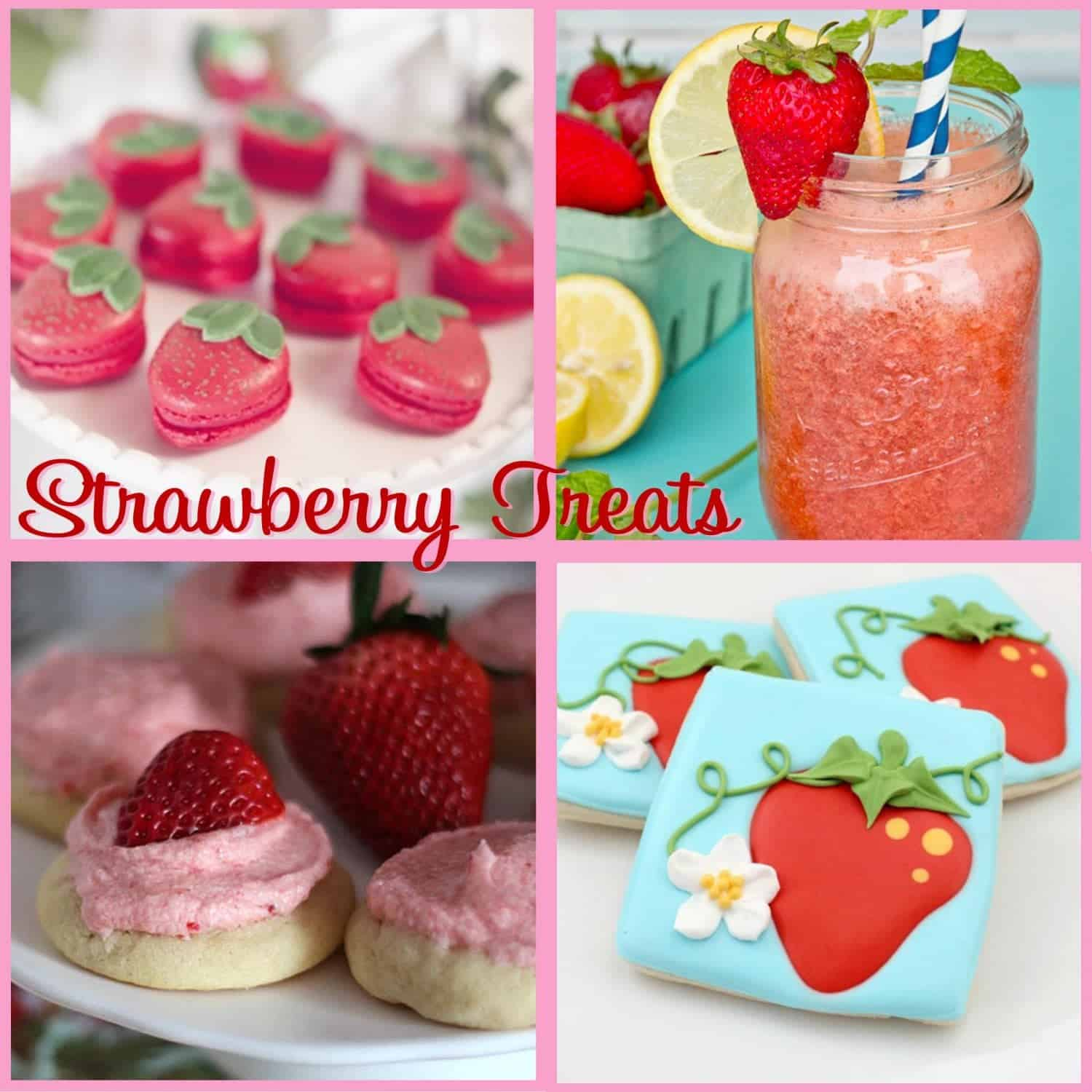 Strawberry Party: Sweet Strawberry Treats
