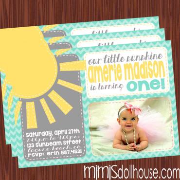 sunshine invite display-gray