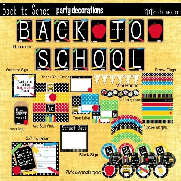 Back to School Display Pic