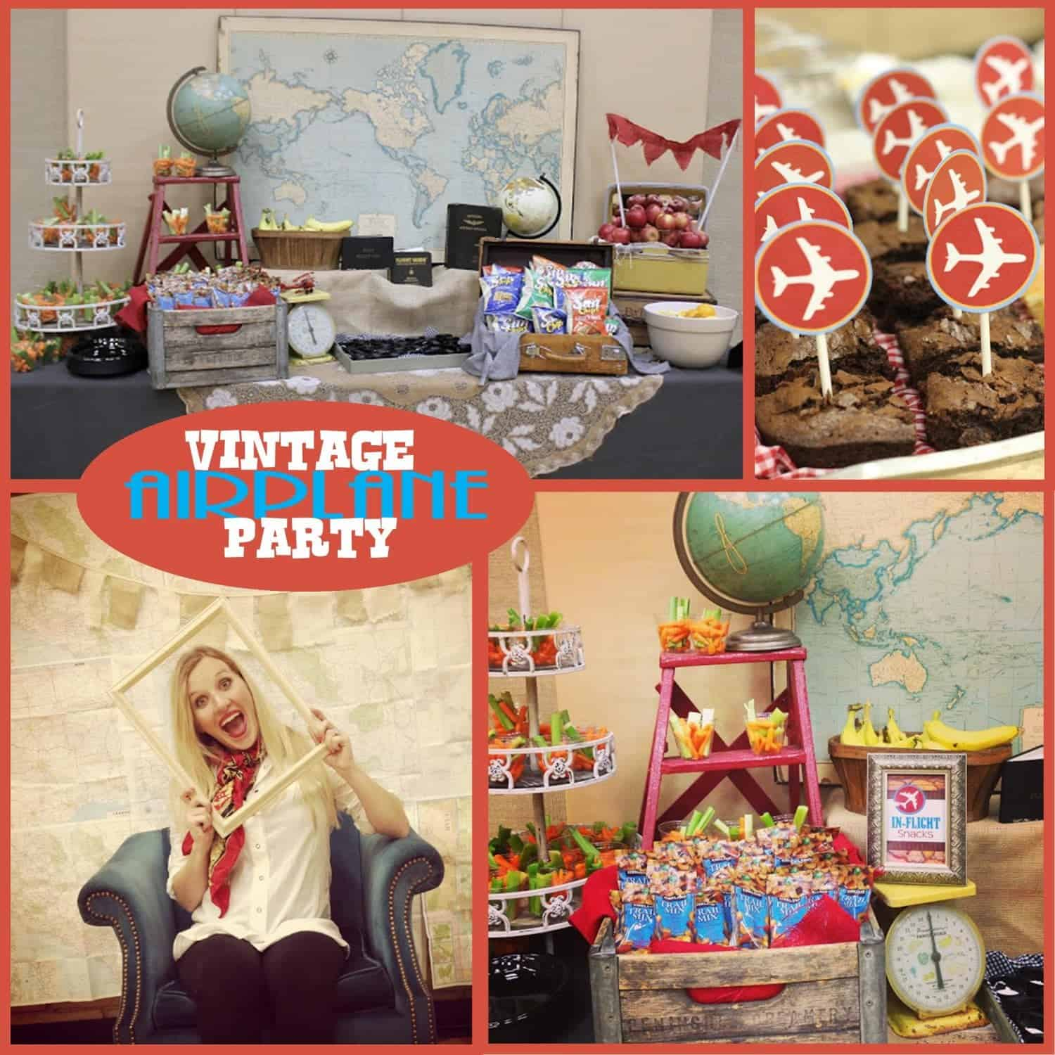 Airplane Party: Vintage Travel Party