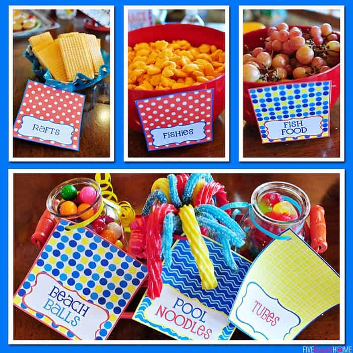 Pool Party Decorations Kids Beach Themes