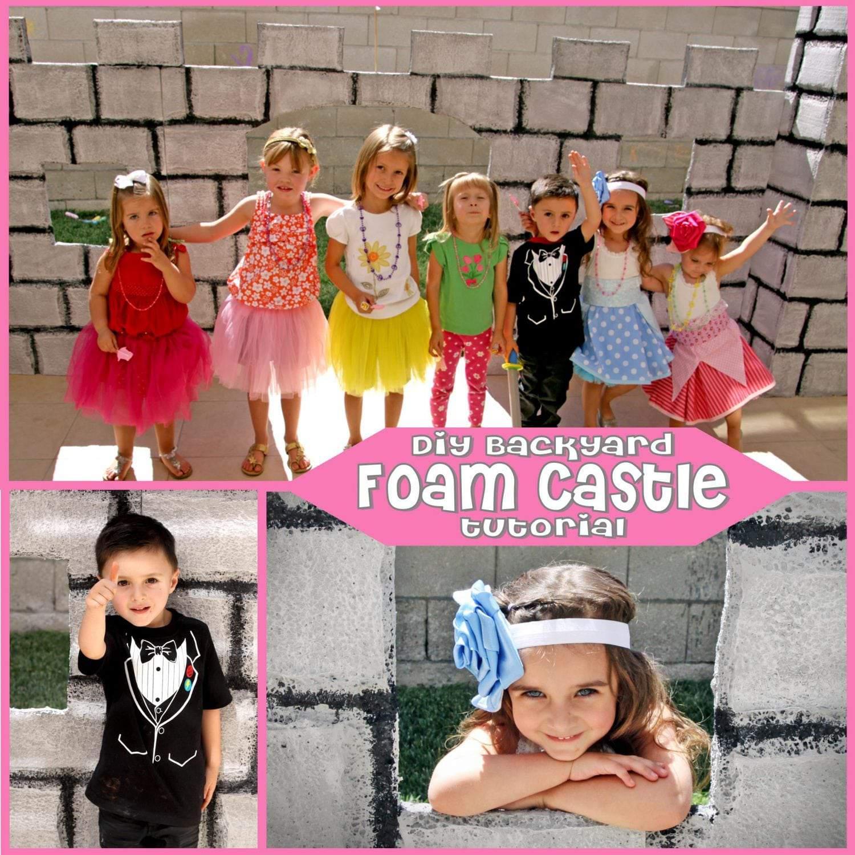 Princess Party: DIY Backyard Castle Tutorial