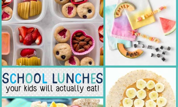 Back to School: School Lunches Your Kids Will Actually Eat