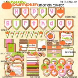 pumpkin display file pink