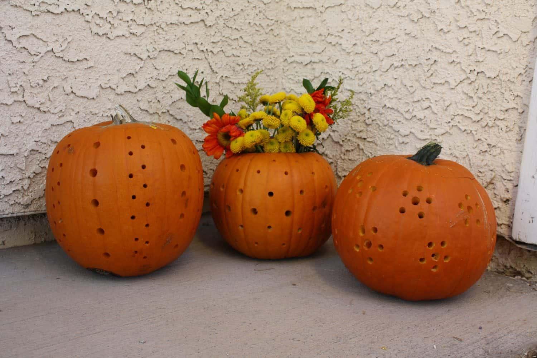Halloween pumpkin carving drill meet