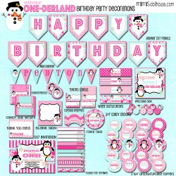 one-derland display file pink