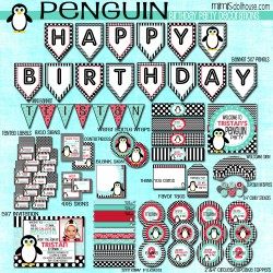 penguins display file boy