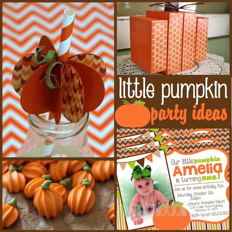 Pumpkin Party: Pumpkin Party Ideas and Crafts