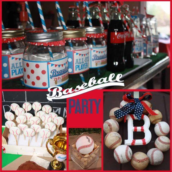 Baseball Party Pic