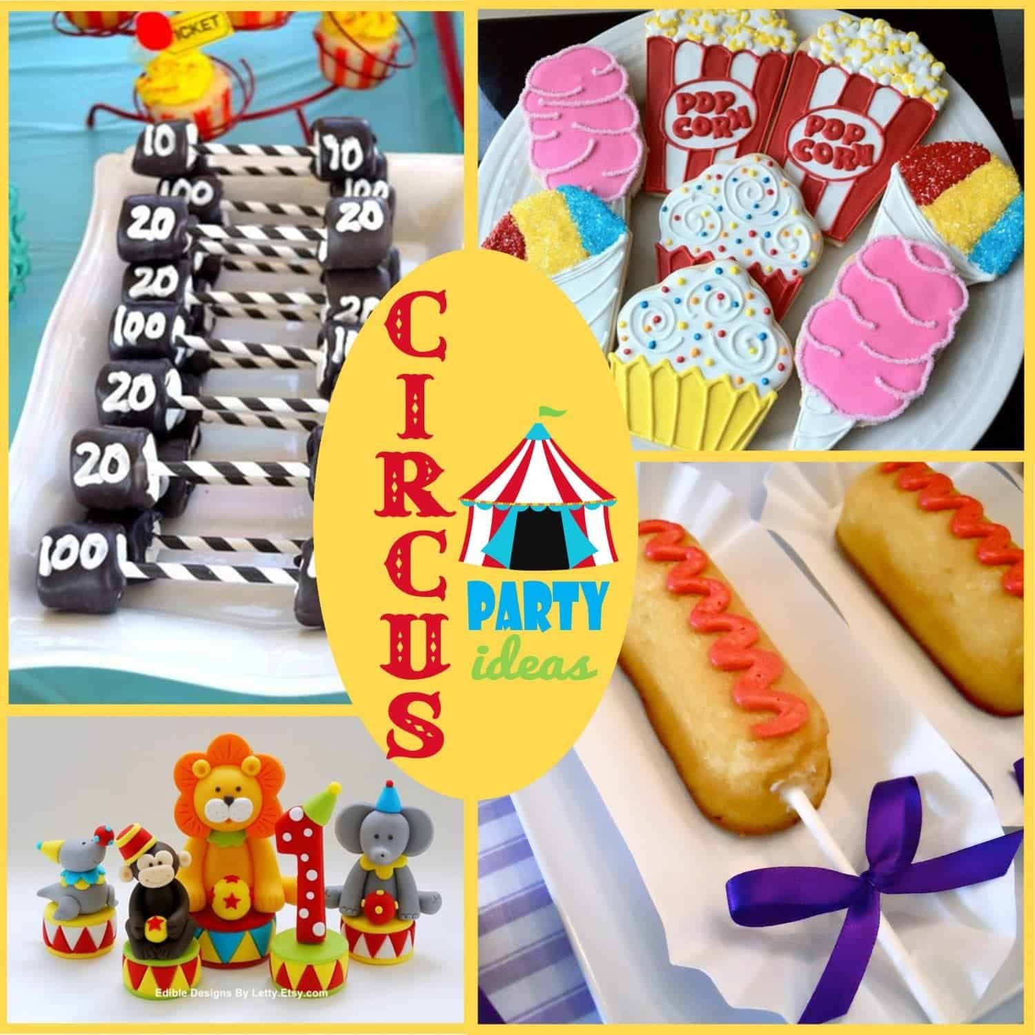 Circus Party Lets Clown Around With Some Ideas