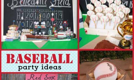 Baseball Party: Braylon's All-Star Baseball Bash