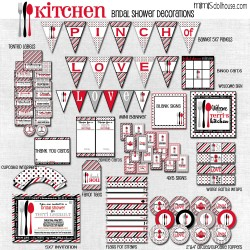 kitchen display file red