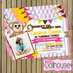 invitation monkey