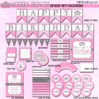 modern princess display file-pink