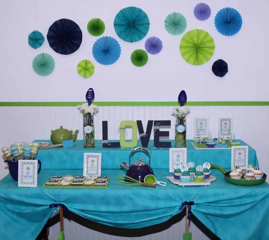 Kitchen Bridal Shower Kitchen Bridal Shower Love In The Kitchen Mimis Dollhouse