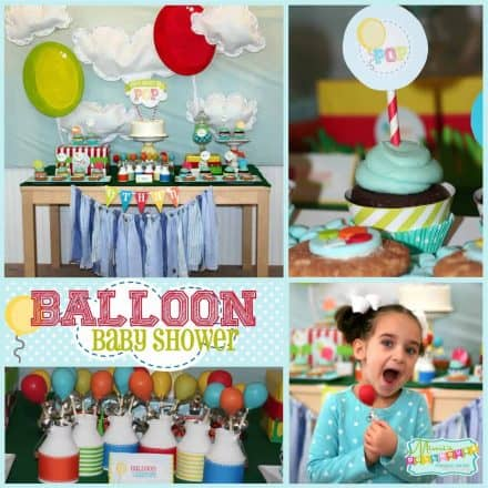 Balloon Baby Shower: She's About to POP!-Mimi's Dollhouse