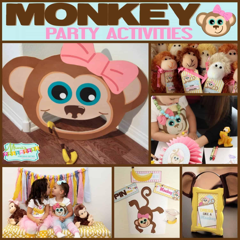 Monkey Party: Emma's Monkey Party-Activites