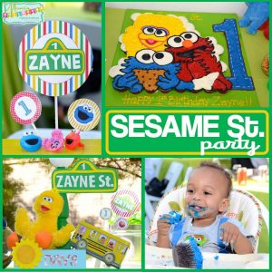 Sesame Street Party: Zayne's World-Mimi's Dollhouse