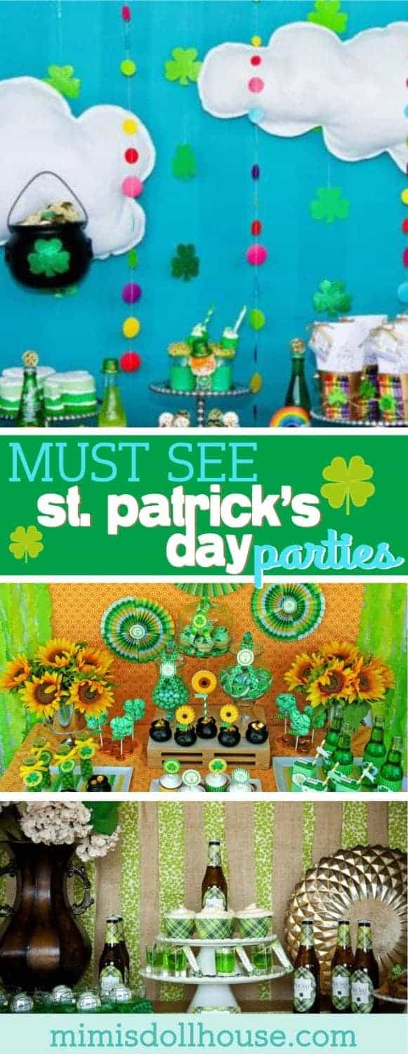 St. Patrick's Day: 5 Lucky St. Paddy's Parties. It's your lucky day!! Today I'm sharing 5 St. Patrick's Day Parties I know you will love! Be sure to check out all our St. Patrick's Day inspiration.
