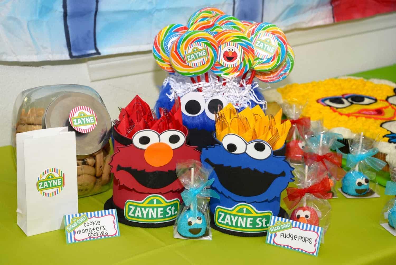 Sesame Street Party Zayne s World