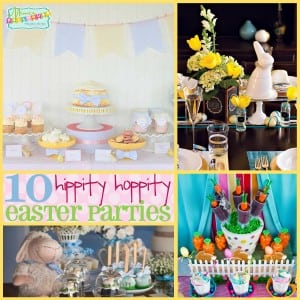 Easter Party: 10 Hippity Hoppity Easter Parties-Mimi's Dollhouse