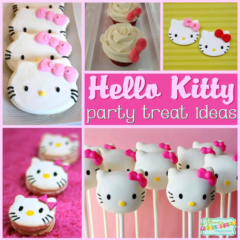 Hello Kitty Party: Sweet Kitty Treats