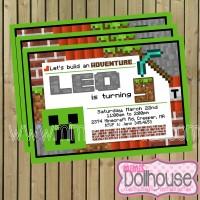 Invite Minecraft Display