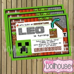 Invite Minecraft Display