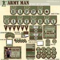 army man display file