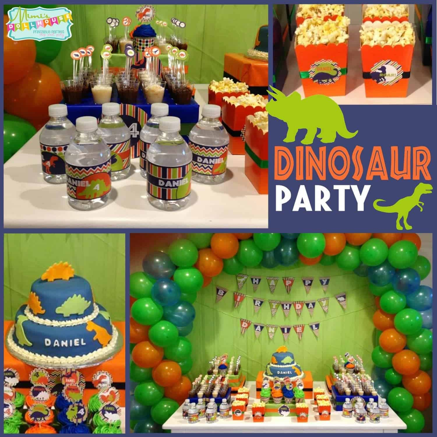Dinosaur Party: Daniel's ROAR-some Birthday